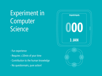 Call for Participation in the Experiment in Computer Science
