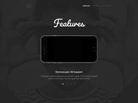 FVR Player Landing Page Design
