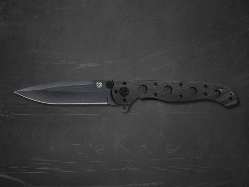 Dribbble knife hd
