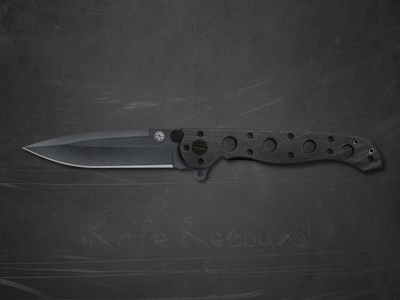 Dribbble knife