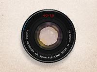 Konica Hexanon AR 40mm f1.8 Lens