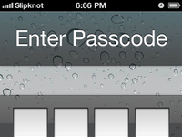 Ios6 iphone4 screenlock gui