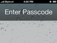 Ios6 iphone5 screenlock gui