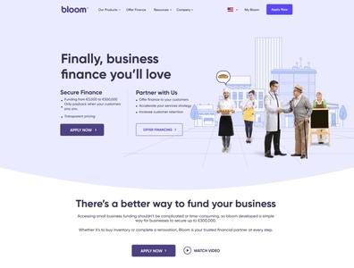 next fintech unicorn website - Bloom