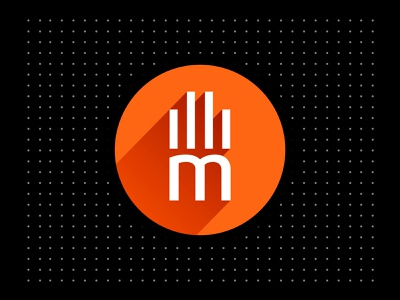 Illico Media Branding 2013 advertising design typography branding design branding and identity logo longshadow flat media logotype branding