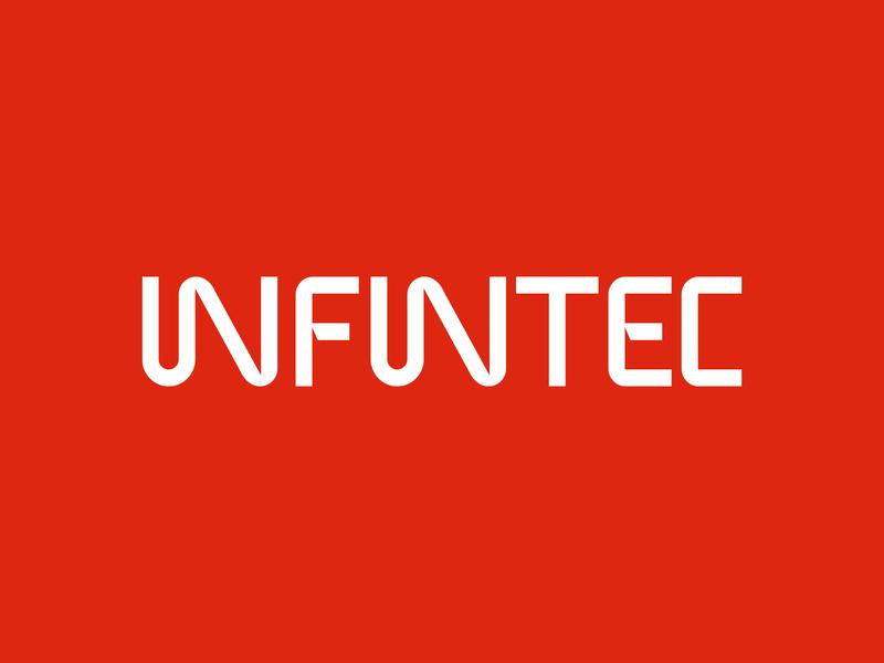 """Infintec"" logo letter logo design logodesign logos letters identity emblem logotype lettering логотип лого logo branding"