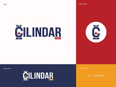 C Logo CILINDAR design service website c cylinder mark icon logo minimal logo cilindar.com cylinder illustration ill app icon app vector branding logo