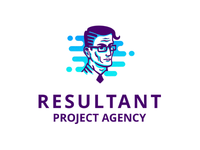 "Logo for project agency ""Resultant"""