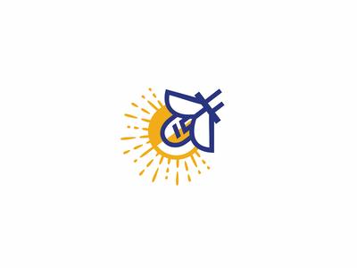 Logo for LED Factory firefly lights logo factory led