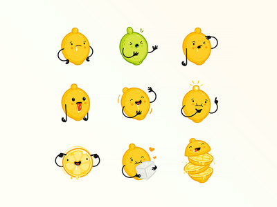 Crazy Lemon Character cute vector download free funny crazy character cartoon character lemon cartoon