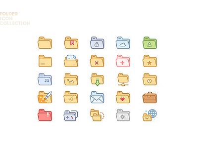 Folder Icon Set web os folders folder folder icon