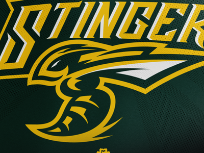 """""""Stingers"""" Sports Logo For Sale"""