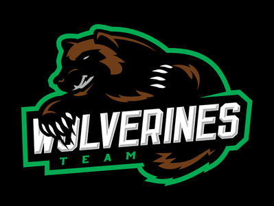 Wolverine Sports Logo For Sale