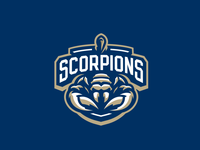"""""""Scorpions"""" Sports Logo for Sale"""