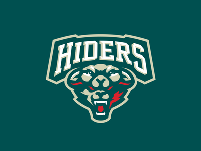 """Hiders"" Sports Logo for Sale"
