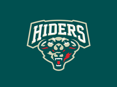 """""""Hiders"""" Sports Logo for Sale"""