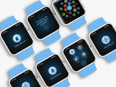 iWatch app for air purifier