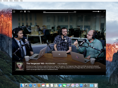 Podcasts for OSX interface player itunes redesign ux design ui mac osx app podcasts podcast