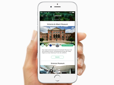 Travelmate for iOS trip advisor lonely planet london travel app iphone ios design ui ux