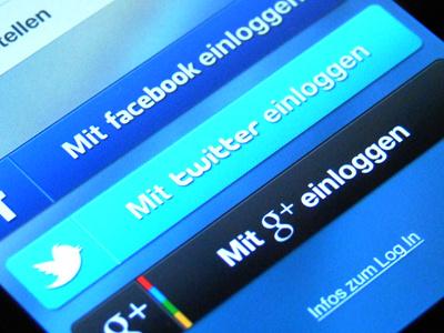 Shoplist Login ios shoplist iphone app application apple log in twitter facebook google ui design interface log in google plus ui design