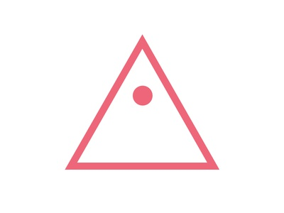 Aiko Interactive Logo design studio logo aiko interactive triangle eye a