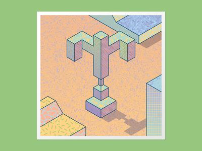 Isometric T