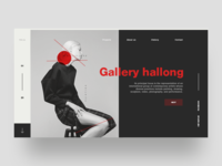Gallery Ijor - conceptual art gallery page exploration.