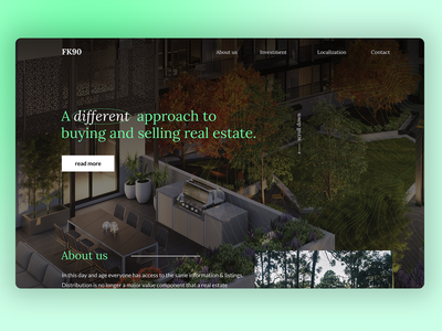 Real Estate Website developer buldings dark website hero section real estate website real estate webdesign ui ui design