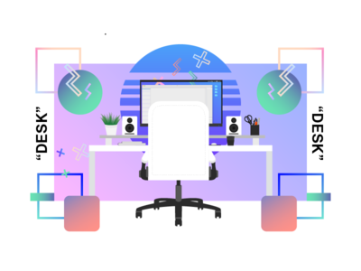 Desk Illustration