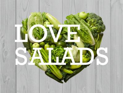 Love salads logo