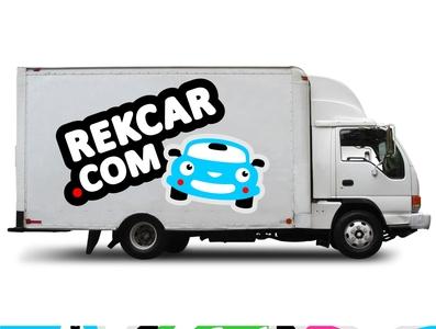 Rekcar.com logo concept