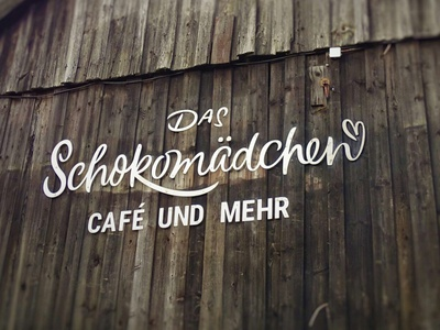 Das Schokomädchen graphicdesign web letters lettering print logo design