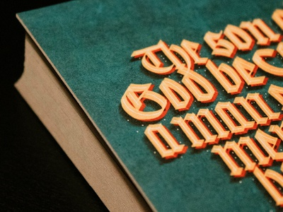 The Son Of God lettering design graphic