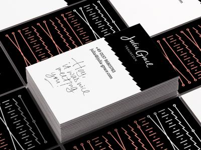 Julia Grace design branding