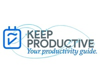 Keep Productive letters custom made branding graphicdesign logo design