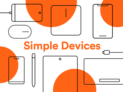 Simple Devices Icons