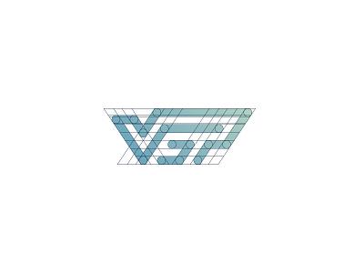 Vertical Sports Performance volleyball sport company graphic design visual  identity brand identity identity brand branding custom lettering lettering typography monogram simple minimal idea logotype logo
