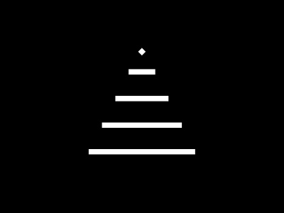 Merry Christmas simple symbol minimal merrychristmas logo identity idea design graphic tree christmas branding brand