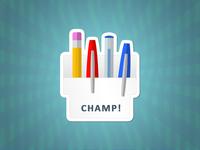 Champ Pen Holder