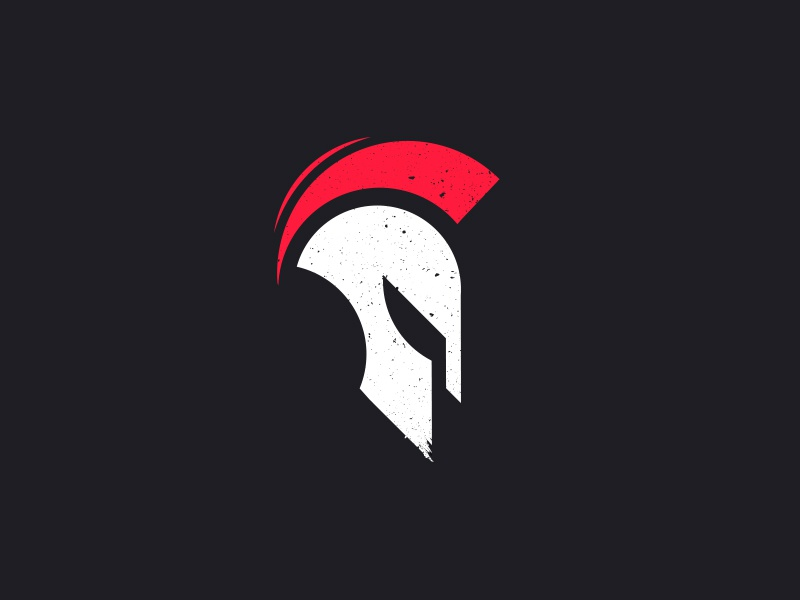 Spartan logo design by daniel white dribbble dribbble for Design lago