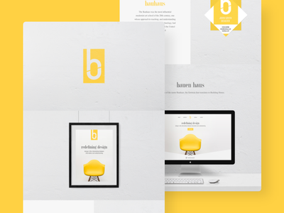 Bauhaus Brand Identity behance identity brand design bauhaus