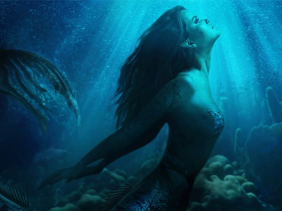 Mermaid Composite photo art mermaid retouching photoshop photo manipulation game design fantasy digital art composite