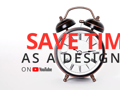 How to save time as a UX/UI designer web designer web design app adobe xd user interface ui design design user experience ui