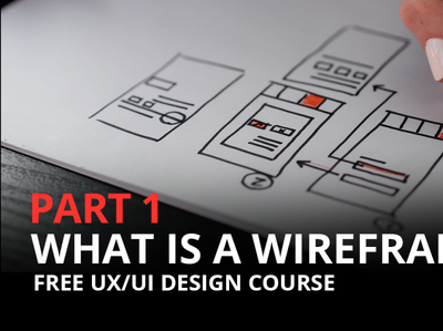 What is a Wireframe | UX/UI Design Course wireframe kit web design user interface ui ux website ux design ui design user experience wireframe design wireframes wireframe