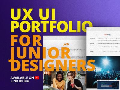 Pro Portfolio Tips for Junior UX UI (Product) Designer product designer website design webdesign web design web website ux design ui design user experience user interface ui ux design portfolio