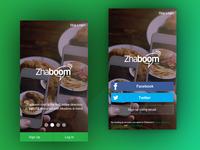 Zhaboom App login