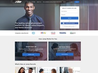 User Interface for Professional Networking Platform