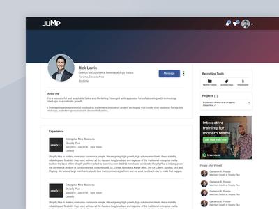 Candidate Profile Dashboard