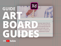 How to create Artboard guides in Adobe XD