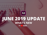 Adobe XD June 2019 Update